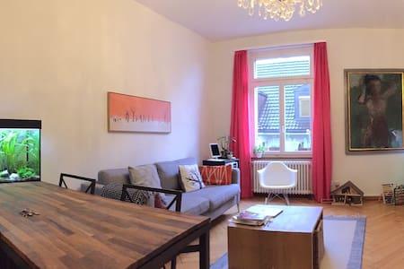 Schöne 3-Zimmer-Wohnung am See beim Tiefenbrunnen - Zürich - Apartment