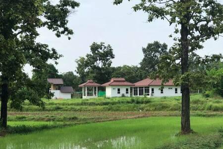Suwan organic farmstay,  bungalow priver 2/4 p