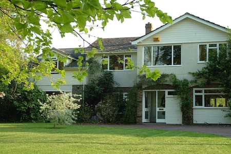 A comfortable and quiet Double B&B Room - Shillingford