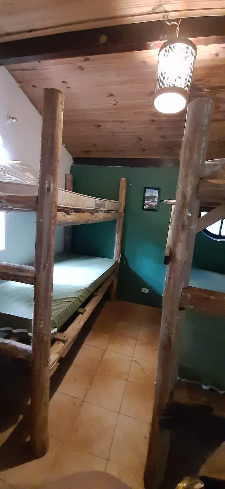 Casa de Locação Véio do Rio, quarto compartilhado