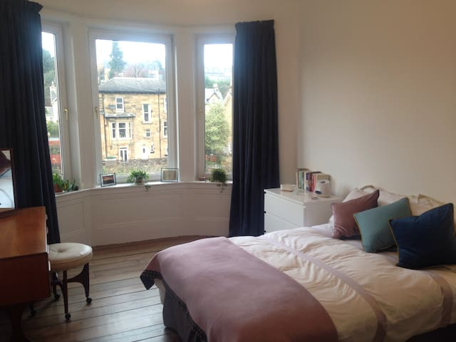 Entire home in bright tenement appartment