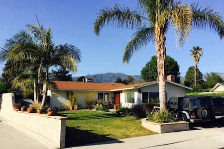 Cul-De-Sac Family Retreat - Santa Barbara