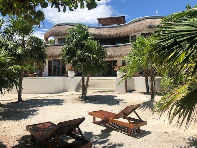 Gorgeous Eco Villa in Costa Maya - Mahahual