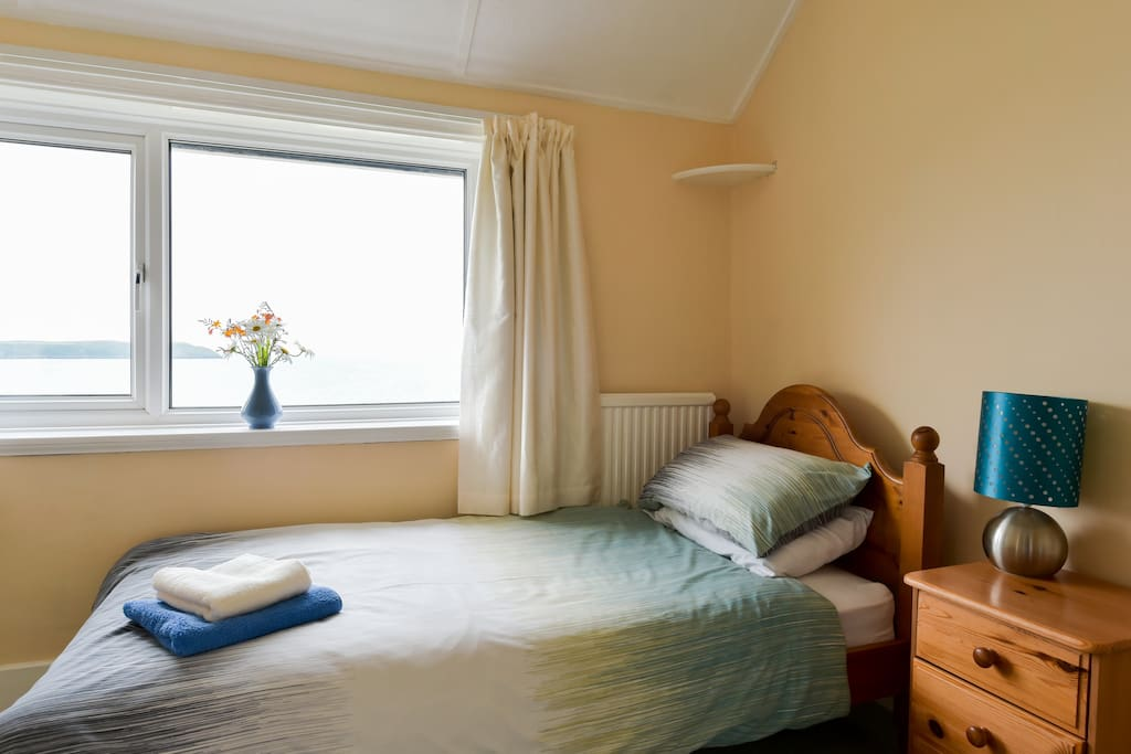 Our lovely single, sea view room