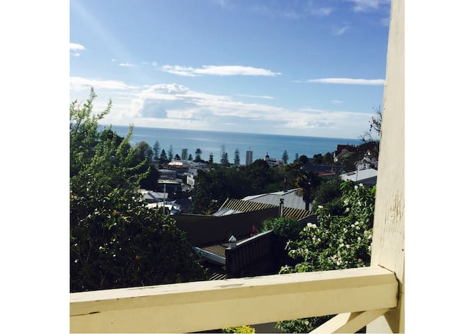 Room with a Seaview - Napier - Huis