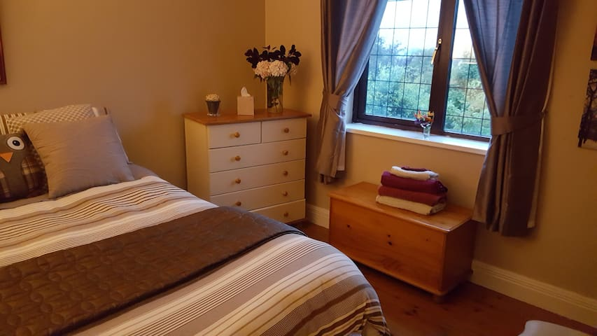 Private room 1 double bed , in Quiet home in Tuam