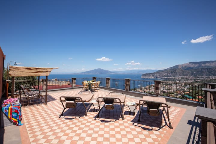 Villa Caruso - Stunning Sea View