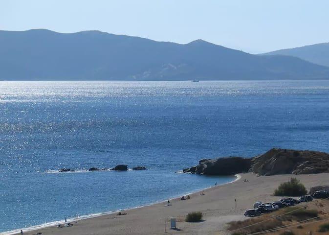 Whole house into Aegean sea landscape.