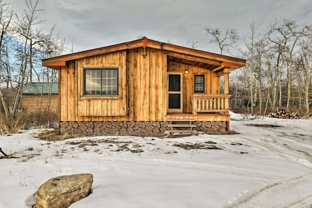 Babb Cabin - 5 Minutes to Glacier National Park!