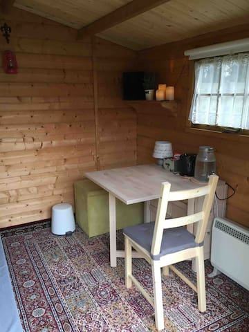 Folding table to create a table or more space