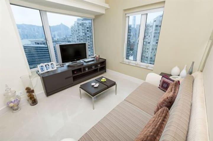 Cozy Couch 7-min to Avenue of Stars - Hong Kong - Appartamento