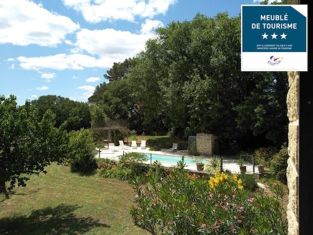 Villa·PontDuGard • pool • XXL garden • sleeps 6