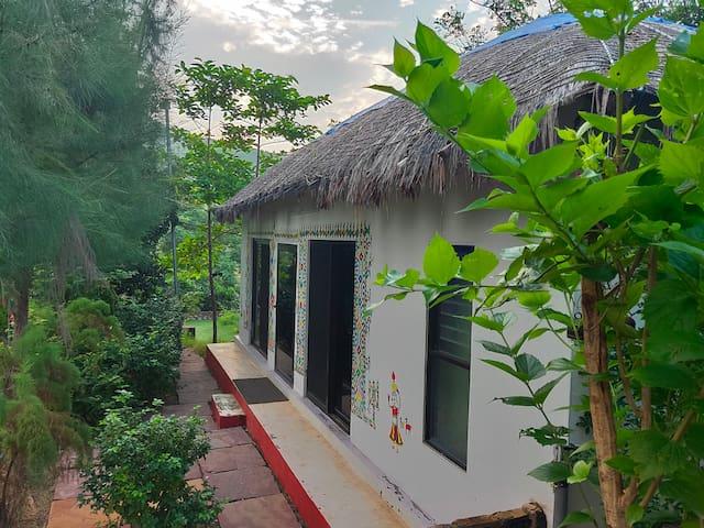 Vyomanh Home Stay, Udaipur - A/C  Bhunga Hut  V