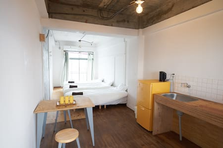 Good access to Naoshima, (S)bed for 2-3guest #E - Tamano-shi - アパート