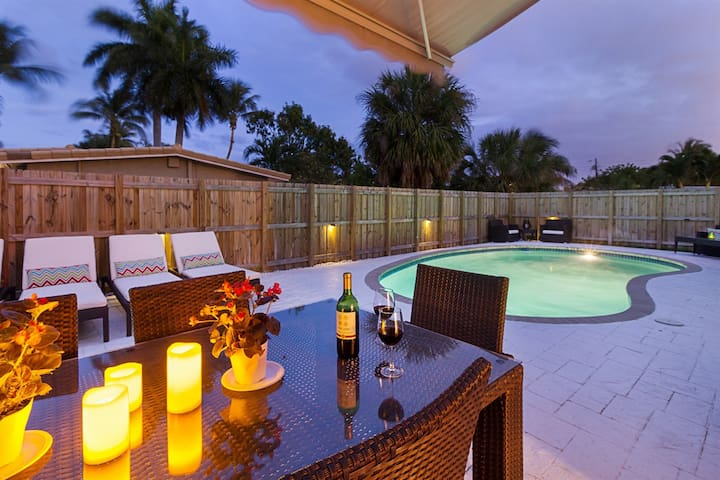 Our Beautiful Home in Pompano Beach - Private Pool Minutes from the Beach