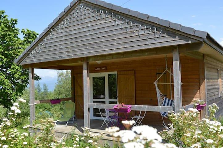 Petit chalet  dans un camping de 16 000 m2 , - Saint-Hilaire - Chalet
