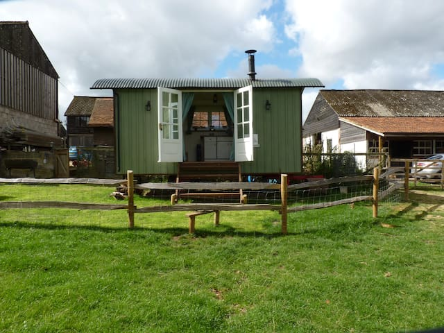 Idyllic Country Shepherds Hut near Stockbridge. - King's Somborne