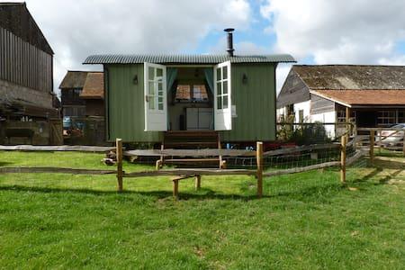 Idyllic Country Shepherds Hut near Stockbridge. - King's Somborne - Skur