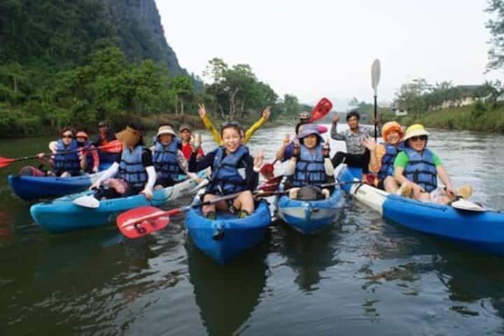 Vang Vieng City Tour