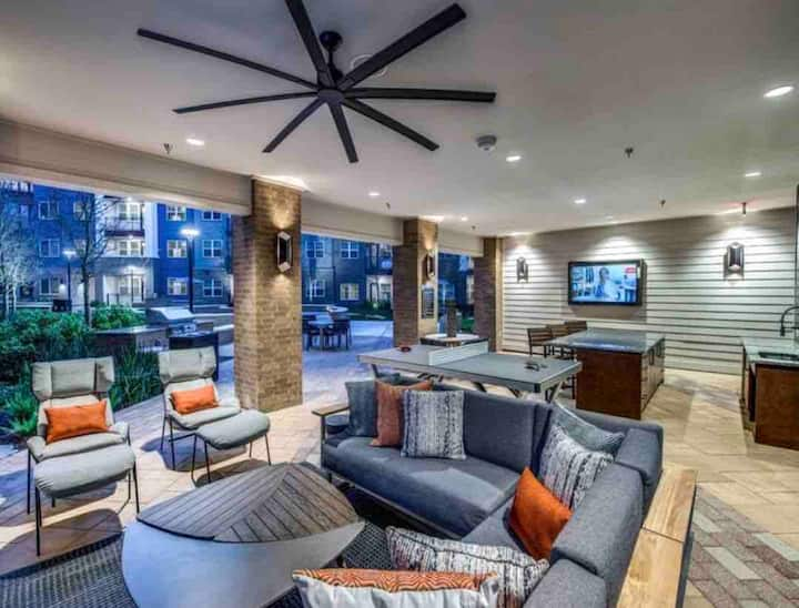 Affordable Luxury stay 1BR APT near the Domain