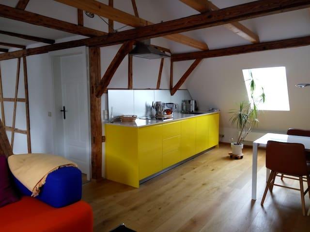 Wohnung nahe Outletcity Metzingen für 4 Personen - Reutlingen - Lejlighed