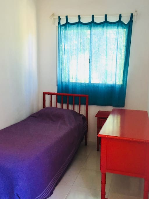 Single bed in separately room