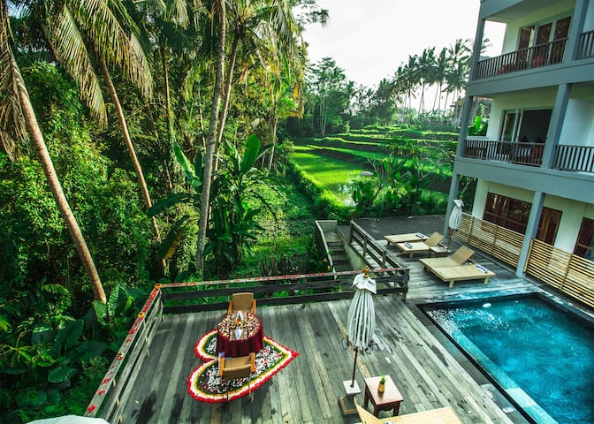 Deluxe Room-No Breakfast at Sembuwuk Village Ubud - Ubud - Boetiekhotel