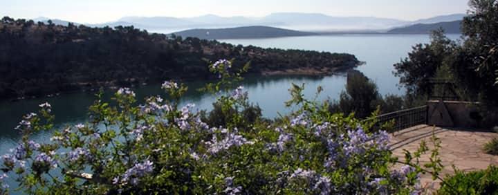 Feriehus tyrkisk fiskerlandsby Olivenhuset i Iasos