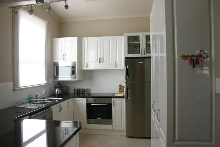 Kitchen with quality appliances