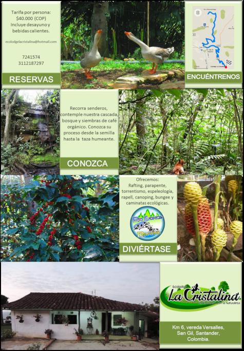 Brochure, una experiencia de Naturaleza!