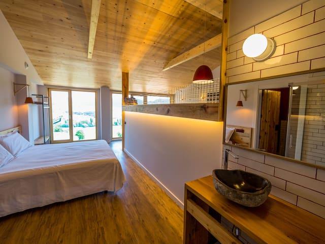 Eco-loft Manairons, SPA, Terraza. Pirineos.