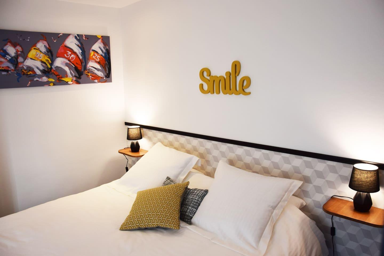 Chambre avec lit King Size ou Lit Jumeaux