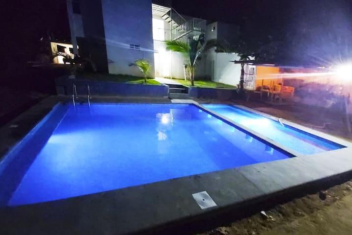 Hotel Las Palmas en Caleta: Habitación Privada 7