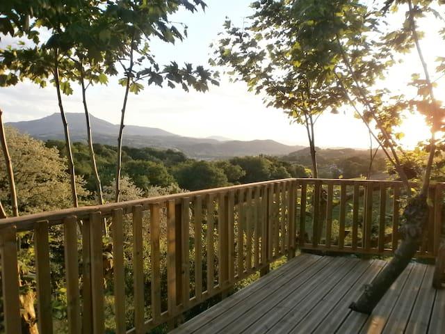 cabane perchée  pays basque camping Manex