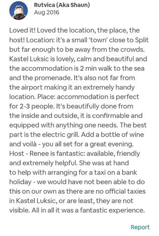 Review of guests