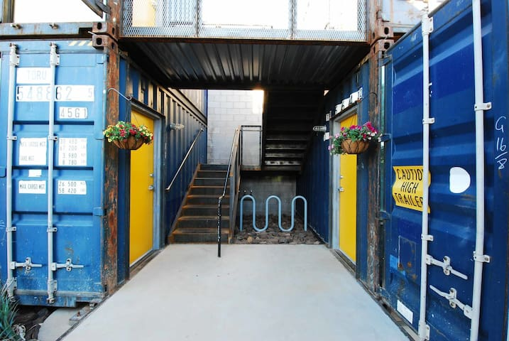 Luxury Containers Downtown PHX Arts District BLUE