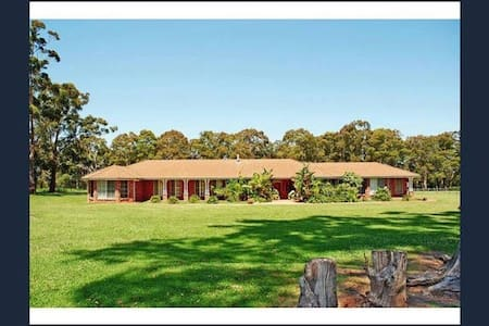 2 Bedroom Family Suite in Country Home - Worrigee - Bed & Breakfast