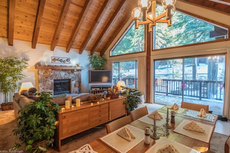 Spacious Chalet w/ Private Luxury Forest Spa House
