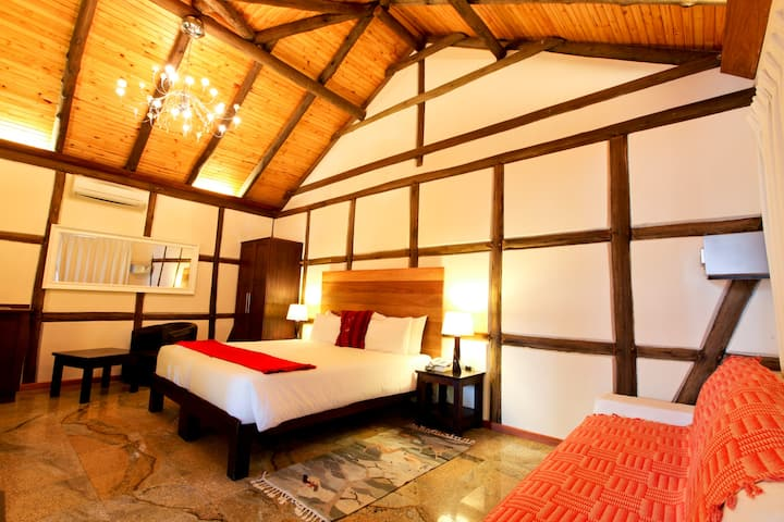 Luxury Double room at Roof of Africa Hotel