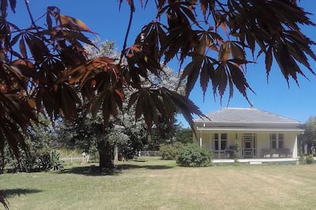 Lone Cottage is a warm cosy comfortable Kiwi home