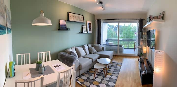 Koselig leilighet med god standard og balkong