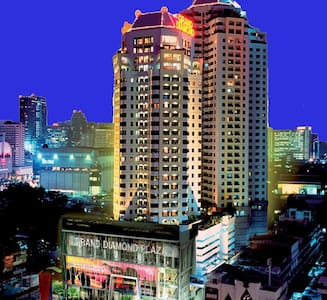 1BR @ Platinum mall+Central World - Bangkok