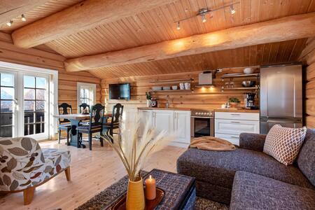 Ny hytte m/ ski in/ski out. Like ved Fjelløypa