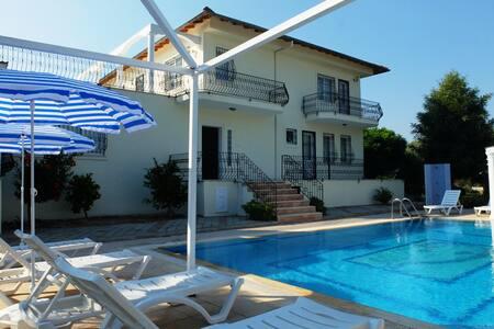 4+1 Villa in Yanıklar, Intertwined with nature - Fethiye