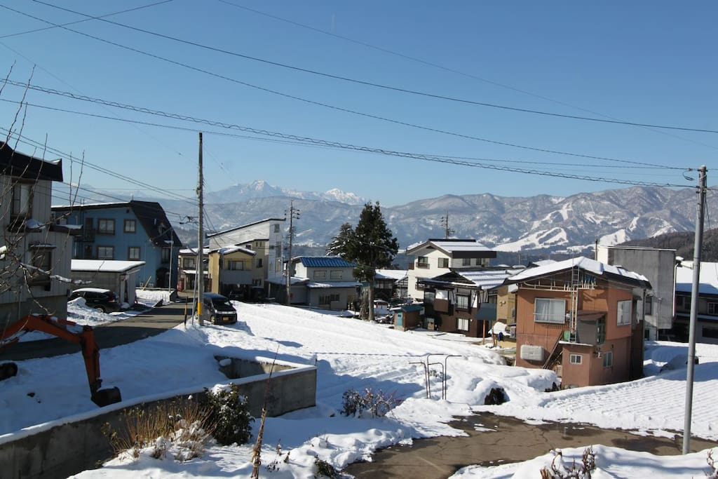Amazing views from Kaiya Nozawa across the Valley