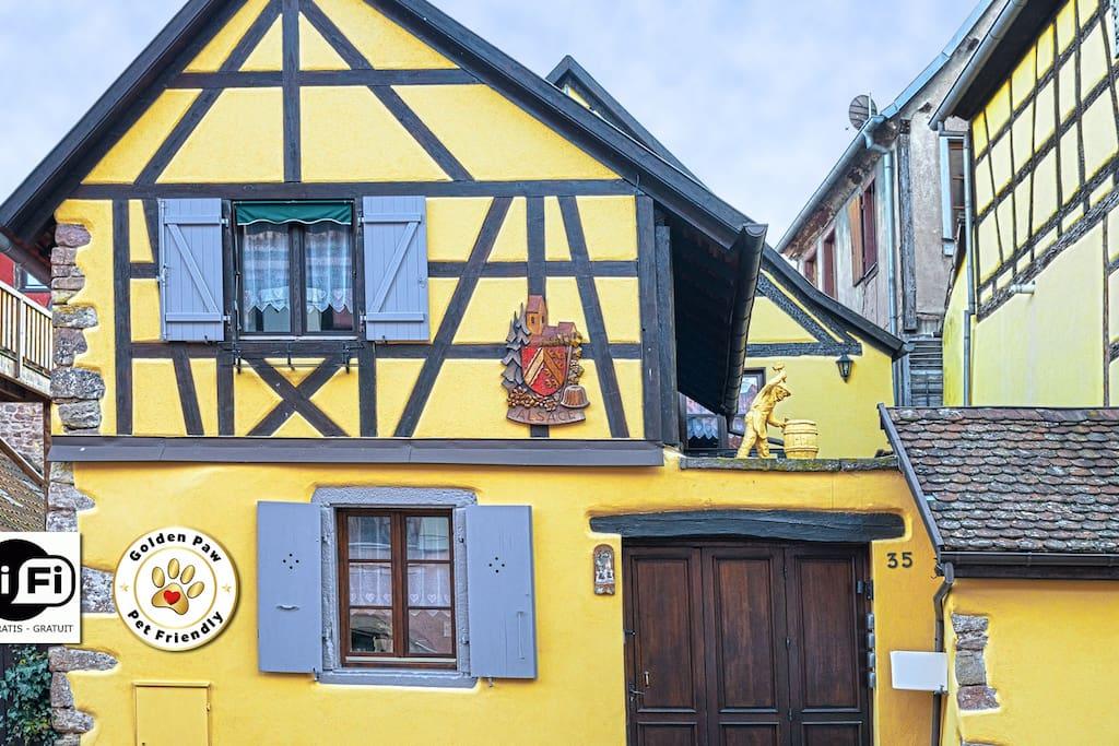 Les gîtes de la Maison Vigneronne à Ribeauvillé en Alsace