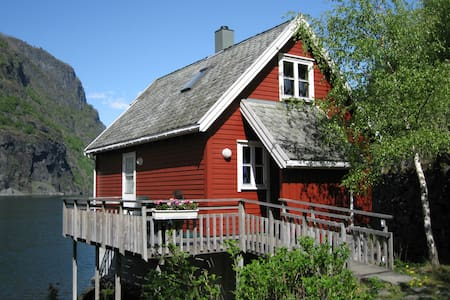 Fretheim Fjordhytter. Holiday cottages in Flåm. - Aurland - Blockhütte
