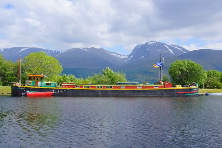 Fingal:  self-catering on the Caledonian canal
