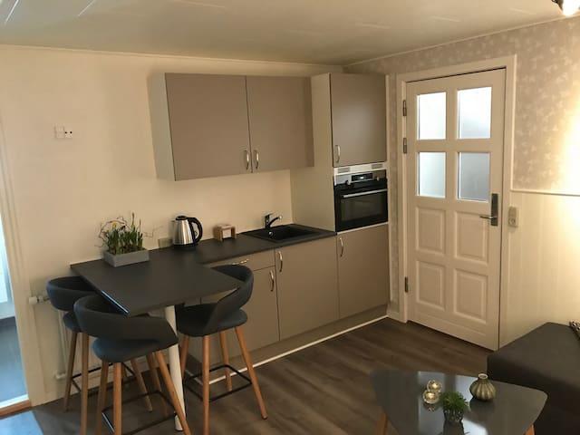 Stort værelse med eget køkken og bad, 7 km Billund