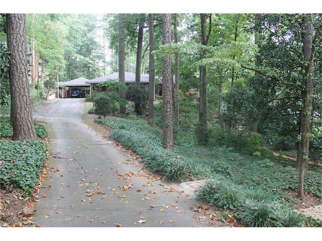 Charming Buckhead Home - Atlanta - Hus